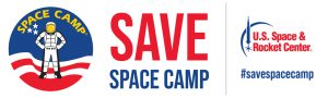 The logo for Save Space Camp Campaign