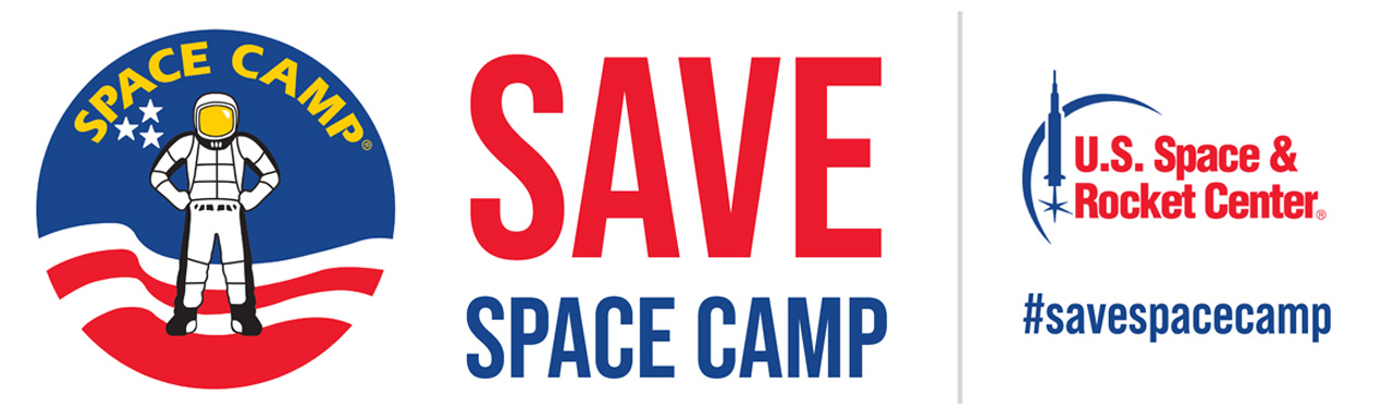 The logo for Save Space Camp