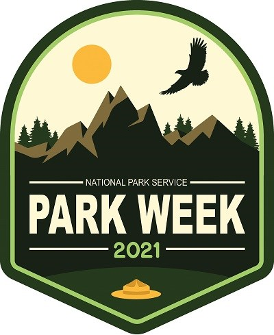 The 2021 logo for National parks week